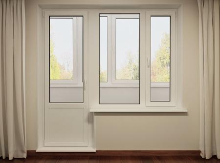 балконные двери от компании Окна Лад