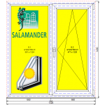 Окно в кухню Саламандер