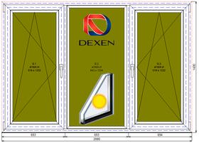 Окно в зал Дексен