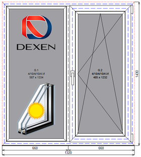 Окно в кухню Дексен
