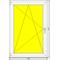 Окно ПВХ Dexen 70 Л 1020x1530