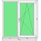 Окно ПВХ KBE 1320x1460